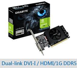 【酷3C】全新 GIGABYTE 技嘉 GV-N710D5-1GL 顯示卡 顯卡 DDR5