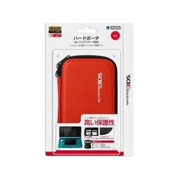 久金本電玩3DS 主機保護硬殼收納包 紅色 3DS-003 [HORI公司貨][全新品] 4961818014701