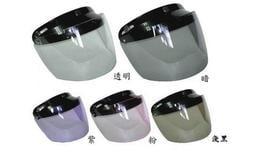 【彩虹小舖】抗UV半罩式安全帽鏡片 長鏡片 工廠破盤價