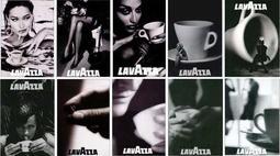 C藝術酷卡明信片 老咖啡LAVAZZA(一套10款)泳池美腿叢林咖啡豆