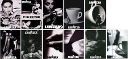C藝術酷卡明信片 老咖啡LAVAZZA(一套11款) 泳池導演椅美腿叢林咖啡豆