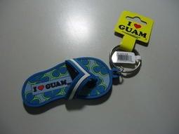 USA GUAM 關島 海灘夏威夷風 Q版 正版 弔飾 鑰匙圈