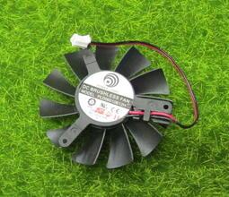 PC傢俬:動力 PLD06010B12H 12V 0.30A 6公分顯卡散熱風扇 2.5小2PIN 顯卡 微星 技嘉