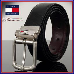 TOMMY HILFIGER 美國名牌 可雙面使用皮帶 頭層牛皮製作 真皮 男士 皮帶 贈原廠精品襪 本館任2件免運