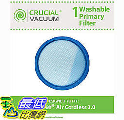 [106美國直購] 濾網 Hoover Air Cordless 3.0 BH50140 Pre Filter