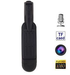 T189家用微插卡隨身攝像頭 DV 針孔攝影機 1080P 密錄器 側錄器 監視器 偷拍 錄影 行車紀錄器插卡隨身