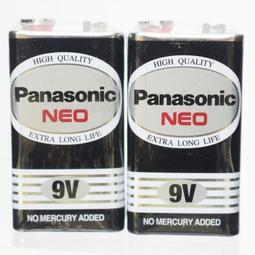 【優購精品館】Panasonic國際牌 9V環保電池 四角9V電池 (黑色) /一個入 [#52]