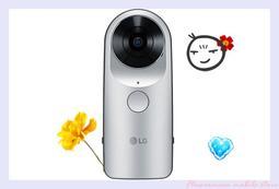 【臺中大里樂福兒通訊】LG 360° 環景攝影機 銀 (搭配門號殺很大)