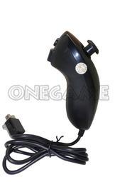 任天堂 Wii 左手把 ( 雙節棍控制器 / 手柄控制器 / 雞腿手柄 ) - 黑色