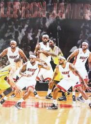 NBA邁阿密熱火詹姆士Lebron James海報17