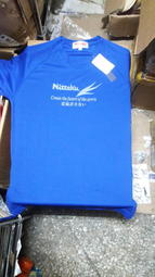 撞球孤鷹~正品Nittaku球衣~(藍色)~材質好~穿著舒適~經典款印刷新貨到!