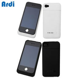 《艾時尚》Ardi iPhone4/4S 600i充電電池背蓋組(黑色)