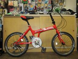 【愛爾蘭自行車】愛爾蘭 GINORI 20吋 24速 折疊車 摺疊車 小摺 高雄 冠鑫自行車
