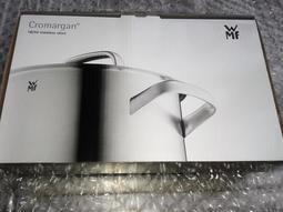 現貨WMF Cromargan 18/10專利不鏽鋼 Diadem Plus 24cm長柄不銹鋼平底鍋