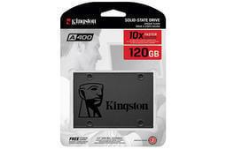 KINGSTON 金士頓 A400 120GB 2.5吋 SATAⅢ SSD 固態硬碟 SA400S37/120G