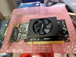 技嘉顯示卡 型號GT710 1GD5 庫存保內品