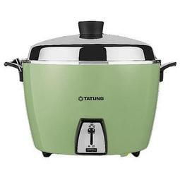 [安安寶貝家]大同TATUNG 10人份電鍋 /煮飯鍋 TAC-10L-DCG/DCR 綠色(簡配)上蓋及內鍋不銹鋼