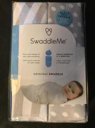 美國 Summer infant - SwaddleMe 嬰兒包巾兩入組 聰明懶人純綿睡袋包巾(M號)
