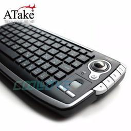 小白的生活工場*ATake - Polar 2.4G無線軌跡球鍵盤 (PTK-300)