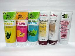 @小蜜緹@ Queen Helene~天然保濕潔淨去角質霜(薄荷/水蜜桃/蜂蜜燕麥/蘆薈/可可/石榴) ~$99