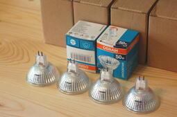 庫存新品 可調光 OSRAM歐司朗 12V 50W GU5.3 MR16 鹵素燈泡 36度 德國製造 射燈 崁燈 杯燈