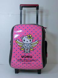 [ Bag`in 包包專賣店 ] UnMe 3308D (桃紅) 鏡面 拉桿書包 75折 特價1860元