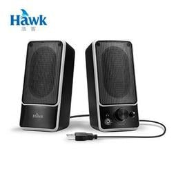 含發票有保障~免運~逸盛科技 Hawk S1 有耳機孔 兩件式多媒體喇叭 USB供電 另有 JS 羅技