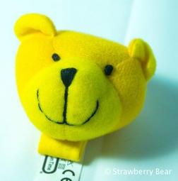 草莓熊雜貨店 寶寶手抓握玩具Fun Time可愛小象小貓小熊帶響鈴防拽角