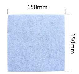 吸塵器通用三層過濾棉(150x150mm)濾芯濾心 空氣過濾 吸塵器海綿 日立cvam14 cvp6