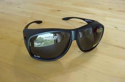 Solar Shield 外覆式偏光太陽眼鏡-XL 眼鏡族可直接配戴(買就送美活家銀纖維襪1雙)
