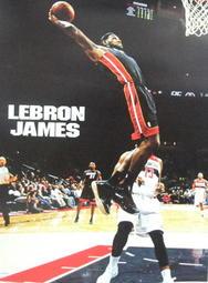 NBA邁阿密熱火詹姆士Lebron James海報16