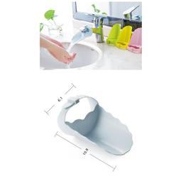 多多倉庫 洗手必備輔助器 兒童洗手器 水龍頭引水器 兒童導水器 水龍頭延伸器 鴨嘴水龍頭 螃蟹洗手器 自來水引導分流