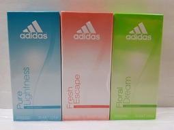 瞎買市集(出清商品)~愛迪達 adidas 女用 淡 香水 30ml (共4款)