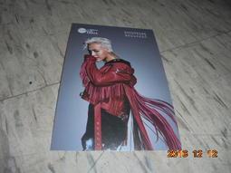 BIGBANG G-Dragon權志龍(GD) ~ 代言 新世界免稅店 明信片