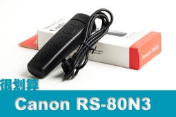 [很划算] Canon RS-80N3 快門線 副廠 5D3 5D4 5D2 7D 7D2 6D 1DS 5DSR