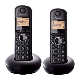 【國際達人】Panasonic 國際數位DECT無線電話KX-TGB212 TW雙手機 黑色款