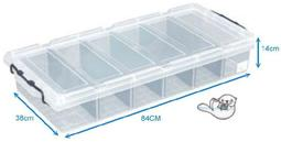 【海獺工作室】強固型分類整理箱 聯府 KEYWAY 床下收納箱 收納籃 整理箱 K019