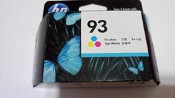 原廠 HP 93 彩色墨水匣
