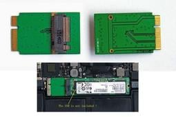 M.2 NGFF SSD轉2012 APPLE AIR A1466 A1465 64G 128G 256G SSD