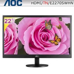 【點點3C】全新 艾德蒙 AOC 22型寬螢幕 E2270SWHN 支援VGA/HDMI介面