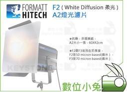 數位小兔【FORMATT F2 A2燈光濾片 ( White Diffusion 柔光 )】柔光片 攝影燈 濾光片 棚燈