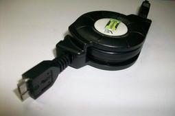 USB 3.0 高速傳輸捲線盒 Type A 公 對 MICRO B 95公分/外接SSD/Samsung Note充電