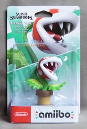 【月光魚 電玩部】amiibo PIRANHA PLANT 超級瑪利歐 食人花 吞食花 任天堂明星大亂鬥 3DS NS