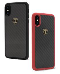 藍寶堅尼Lamborghini 授權iPhone X/XS 頂級碳纖維卡夢手機殼背殼DUCATI法拉利 carbon