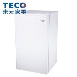 泰昀嚴選 TECO東元 99公升 單門小冰箱 R1091W 線上刷卡免手續 全省配送拆箱定位 A