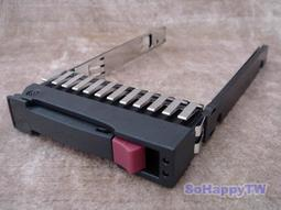 【SoHappyTW賣場】全新 HP ProLiant 2.5 SAS / SATA Hot-Plug Server Tray 熱抽換 伺服器 硬碟架 500223-001 G4 G5 G6 G7