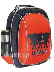 【葳爾登】UNME小學生書包超輕護肩運動背包兒童後背包登機箱台灣製護脊書包3052紅色