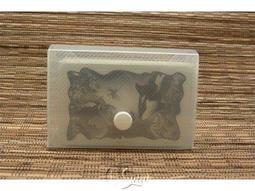 【桌遊週邊】透明塑質卡盒(小)紙牌配件收納盒 Card Box-S