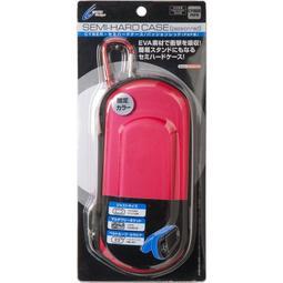 PSP專用 日本 CYBER Gadret EVA 耐衝擊 半硬包 硬殼包 主機包 保護包 紅色款【板橋魔力】