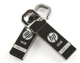 惠普 HP X750W 32GB USB3.0 金屬 勾掛式隨身碟